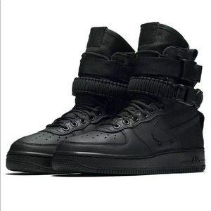 Nike Shoes | Air Max Ivo Lifestyle Sports Black Crimson